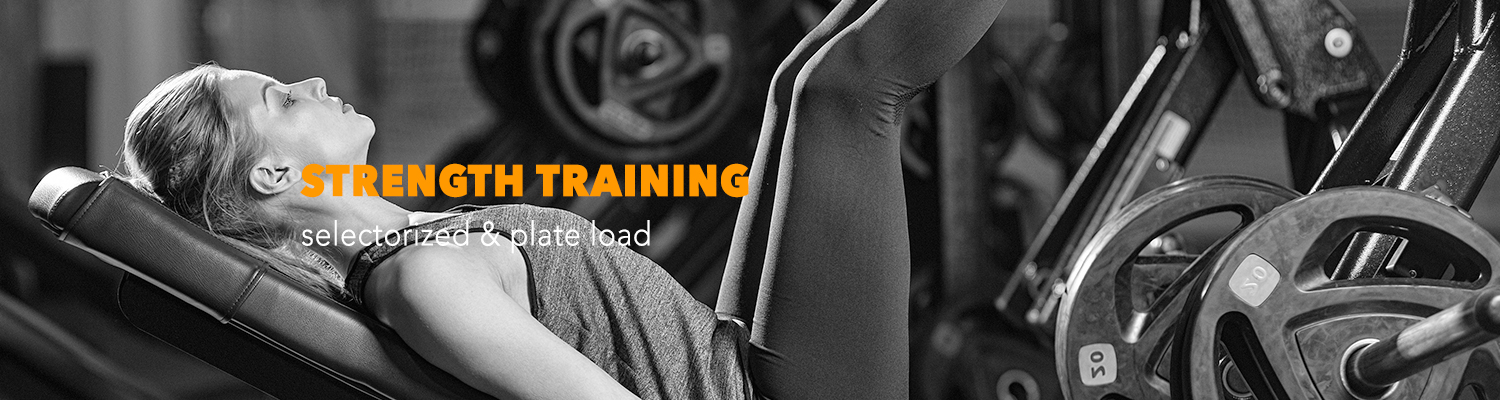 Strength Training Machines - Selectorized and Plate Load