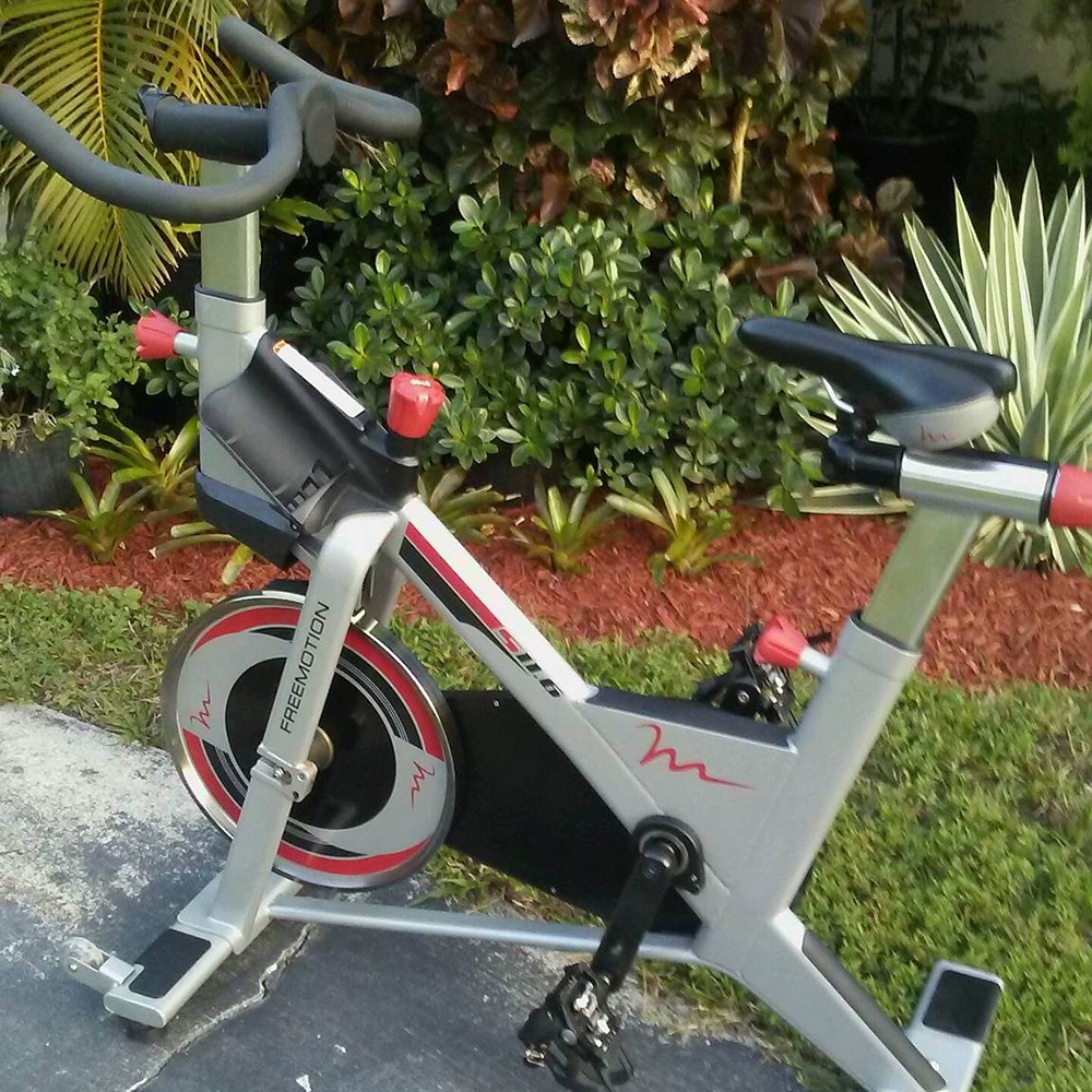 Used Free Motion Spin Bike for Sale