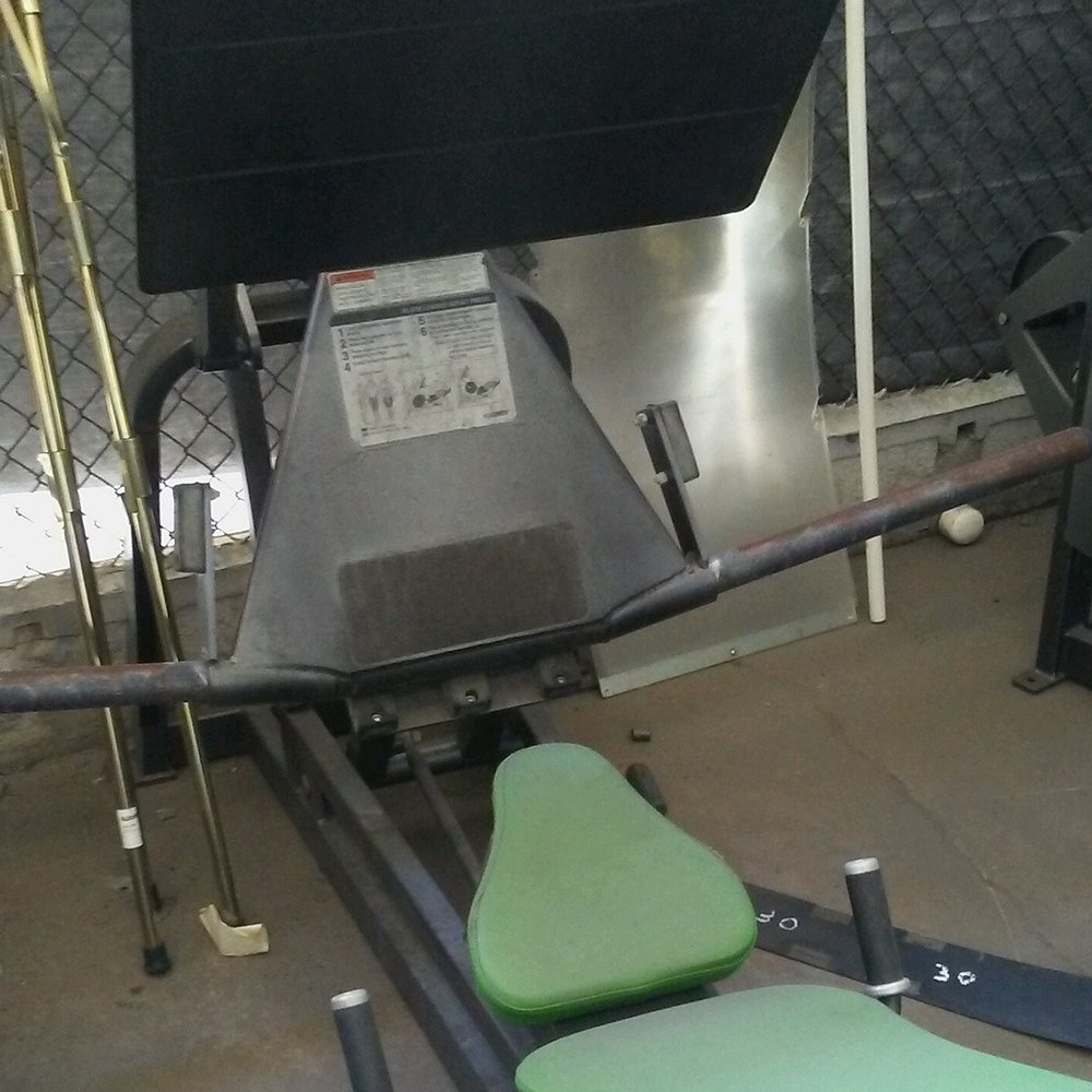 Used Cybex Squat Press for Sale